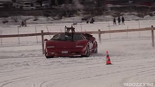Now Presenting Supercars on Ice