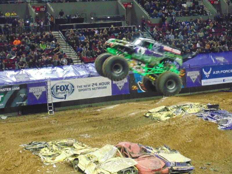 Illustration for article titled Monster Jam Portland (Photos and Video)