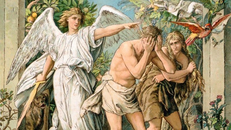 Illustration for article titled Religious Conservatives Argue Adam And Eve Would Never Have Been Banished From Eden If They'd Had Guns