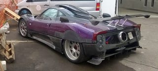Illustration for article titled The Zonda ZoZo Has Covered Rear Wheel Arches, Is Weirdly Awesome