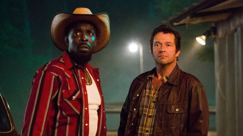Illustration for article titled Hap And Leonard goes through the motions of a season finale