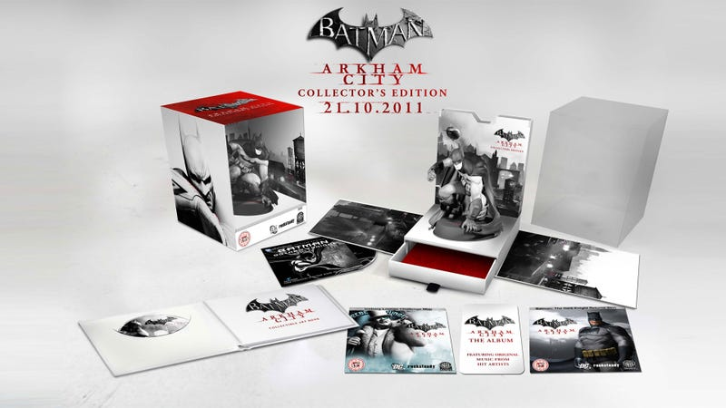 Illustration for article titled Batman: Arkham City Collector's Edition is Gotham City's Greatest Treasure