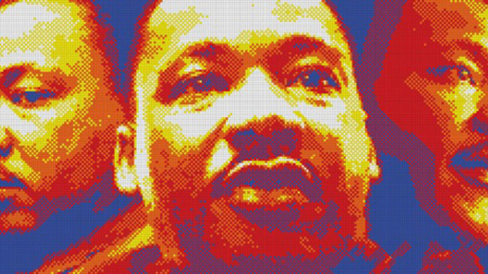 Amazing Martin Luther King Jr Portrait Made From 4200 Rubiks Cubes