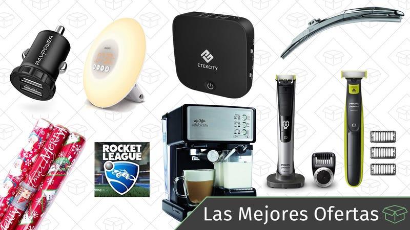 Illustration for article titled Las mejores ofertas de este jueves: Philips OneBlade, parabrisas, transmisor de Bluetooth y más