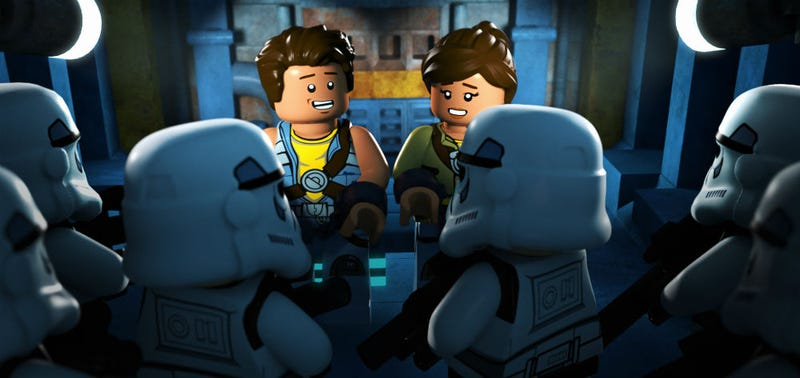 Illustration for article titled Palpatine Says 'Meh' to This Lego Star Wars: Freemaker Adventures Trailer, But We Disagree