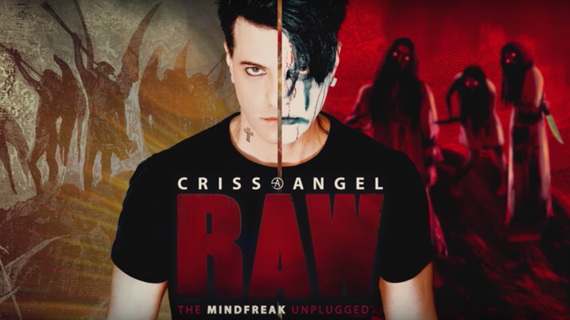 Illustration for article titled I Got Mindfreaked Exactly 24 Times at Criss Angel Raw