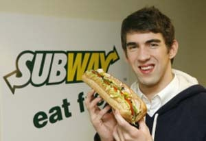 Illustration for article titled UPDATE: Subway Banishes Phelps From Its Home Page (Jared Still Available)