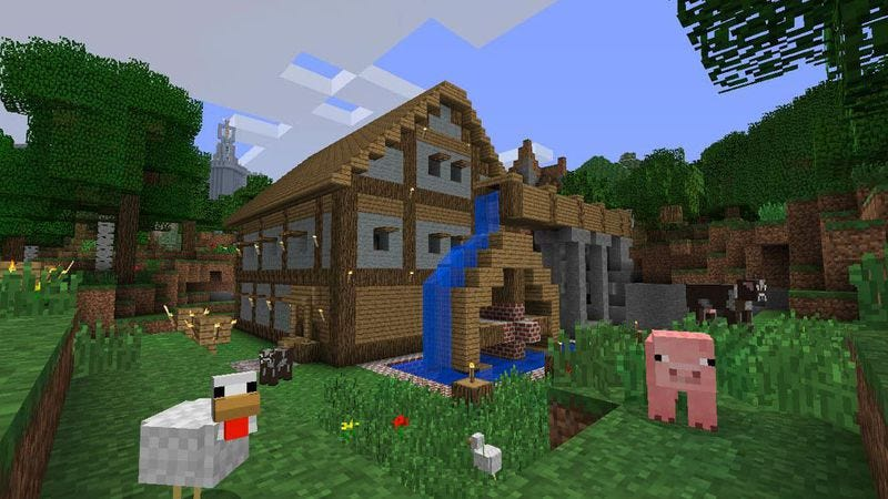 Illustration for article titled Minecraft movie to continue America's love affair with blocks