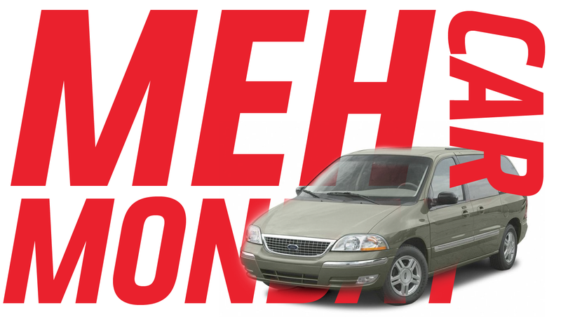 Illustration for article titled Meh Car Monday: The Ford Windstar Proves Meh-ness Is Like Entropy