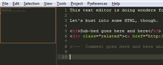 Illustration for article titled Sublime Text is a Serious Text Editor with No Bloat
