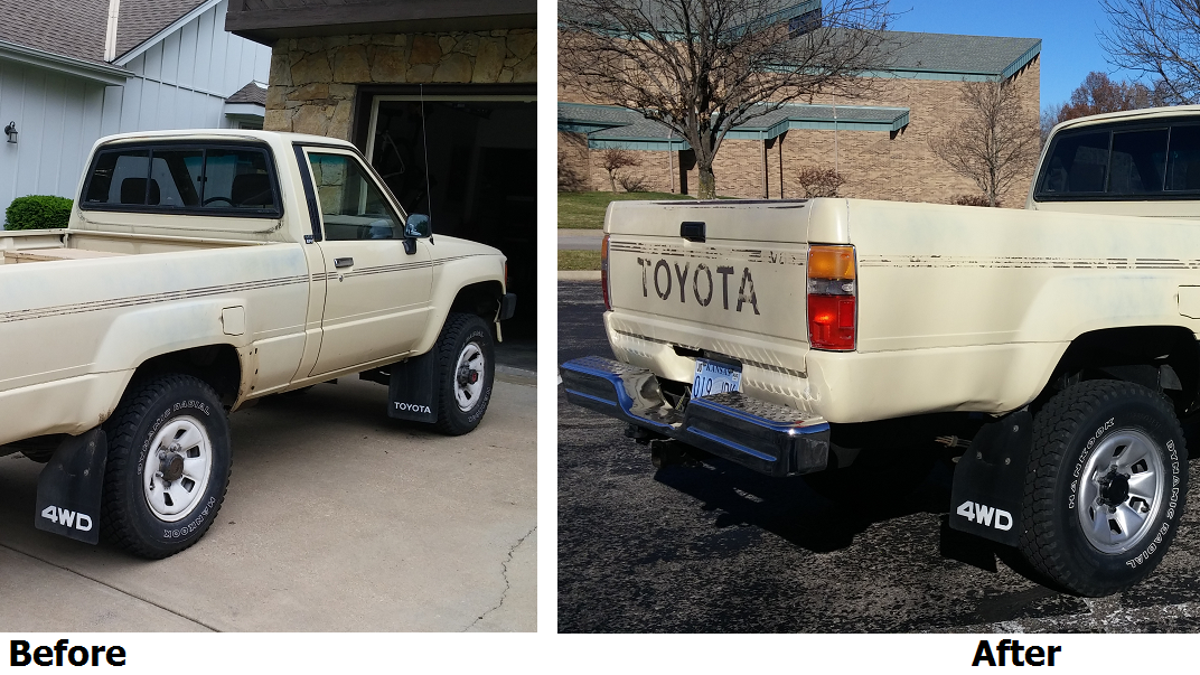 Here\'s Exactly What It Cost To Buy And Repair An Old Toyota Pickup Truck