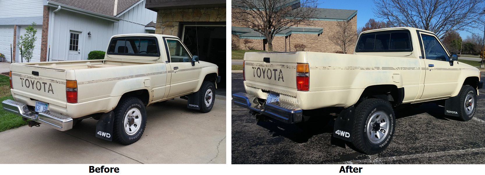 here s exactly what it cost to buy and repair an old toyota pickup truck rh jalopnik com 1987 Toyota Truck Toyota Street Truck