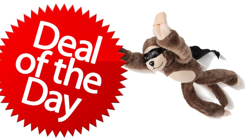 Illustration for article titled This Flying Monkey Slingshot Is Your Better-Than-Thumbs Deal of the Day