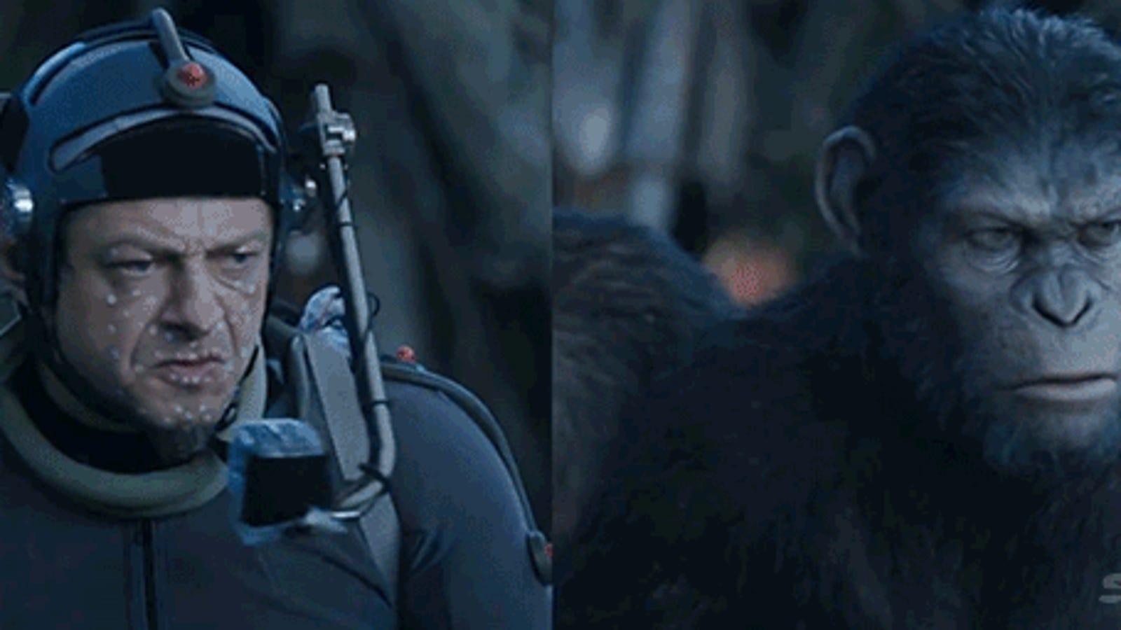 Captura de gestos y CGI, así se hizo Dawn of the Planet of the Apes