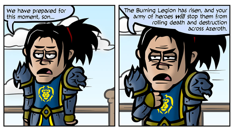 Illustration for article titled One Does Not Simply Prepare for World of Warcraft: Legion