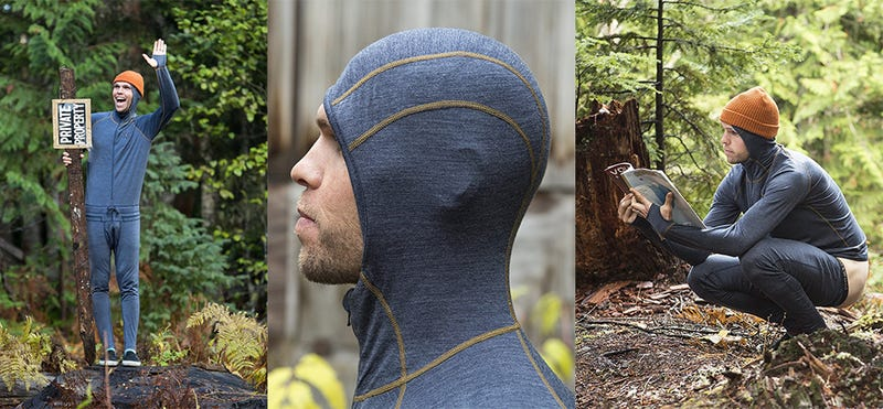 Airblaster Merino Ninja Suit with Hood