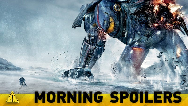 Illustration for article titled Could the next Pacific Rim film be a prequel? Plus New RoboCop Pics!