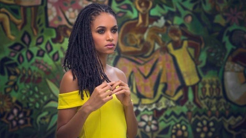 Illustration for article titled Sanneta Myrie Is First Miss World Contestant to Wear Dreadlocks