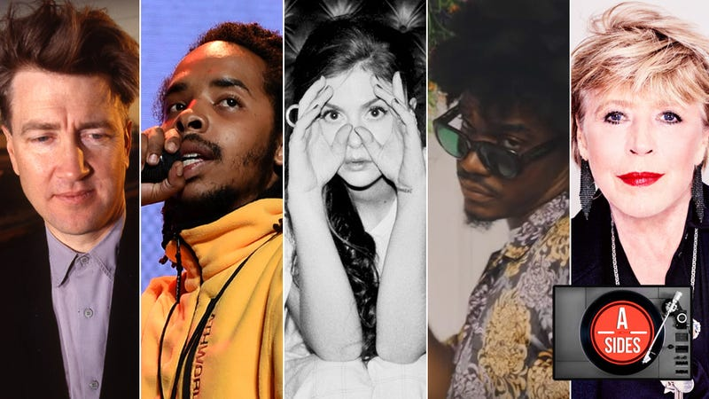 "David Lynch (Photo: Anthony Barboza/Getty Images), Earl Sweatshirt (Photo: Kevin Winter/Getty Images for LiveNation), Vera Sola (Photo: Marc Lemoine), Smino (Screenshot: ""L.M.F."" video/YouTube), and Marianne Faithfull (Photo: Yann Orhan)"
