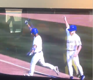 Illustration for article titled Yasiel Puig Hits Grand Slam With Self In Video Game, Reacts Accordingly