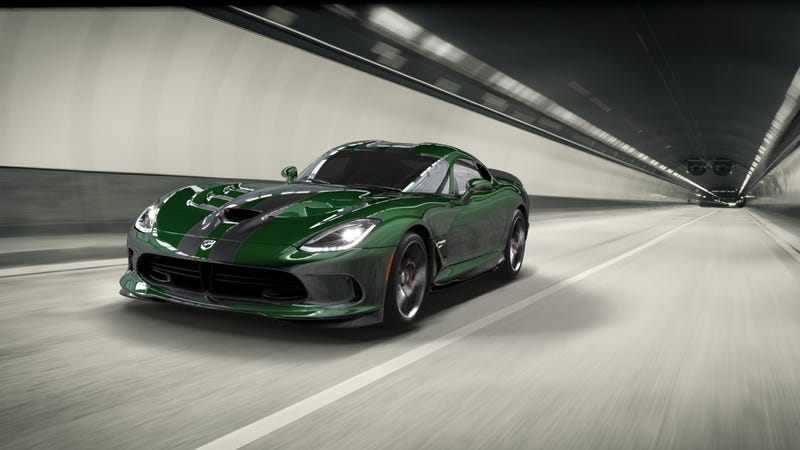 Illustration for article titled How Would You Spec Your One Of A Kind Dodge Viper GTC?