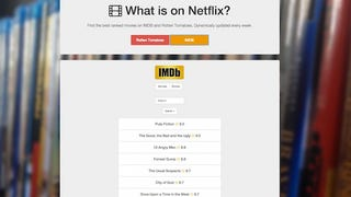 What Is On Netflix? Uses Rotten Tomatoes and IMDB to Help Pick a Movie
