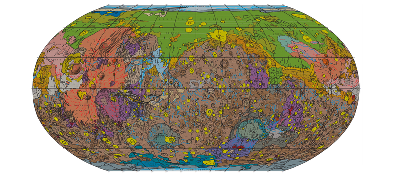 Illustration for article titled This Is the Most Detailed Map of Mars's Surface Ever Made