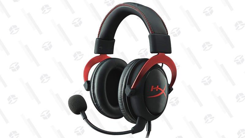 HyperX Cloud II Gaming Headset   $70   Amazon