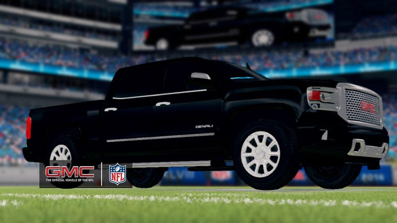 Illustration for article titled Madden NFL 25 Pimps GMC's Rides