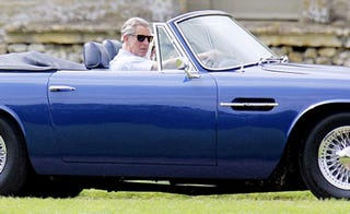 Illustration for article titled Prince Charles Converts Aston Martin To Run On Wine