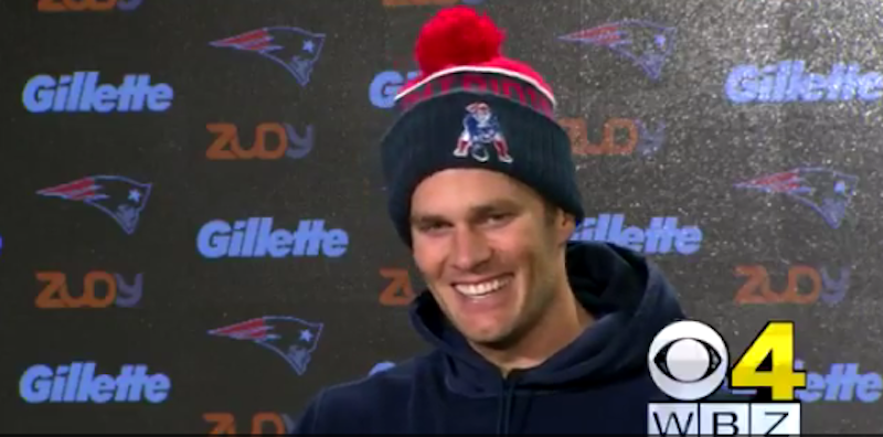 Tom Brady Leaves Press Conference After Two Questions About