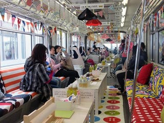Illustration for article titled Japan's Ikea Monorail Is Filled with Ikea Crap