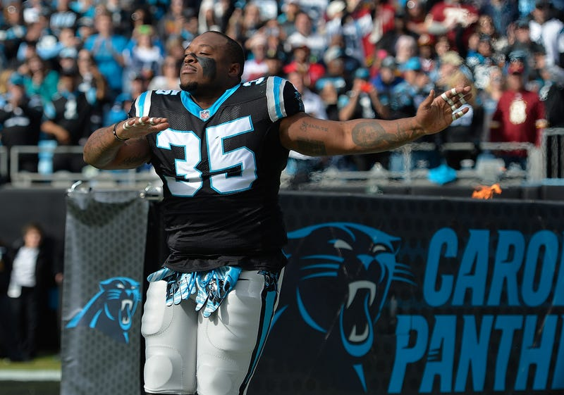 Mike Tolbert of the Carolina Panthers Grant Halverson/Getty Images