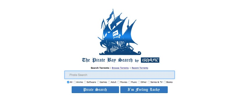 Illustration for article titled Another Torrent Site Has Resurrected the Pirate Bay