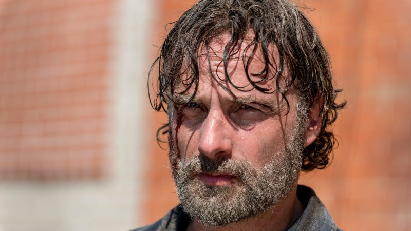 Rick (Andrew Lincoln) has sunk to a new low.
