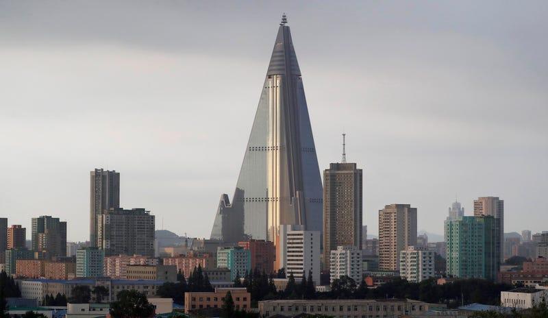 Imagen del edificio tomada el pasado 27 de julio. AP
