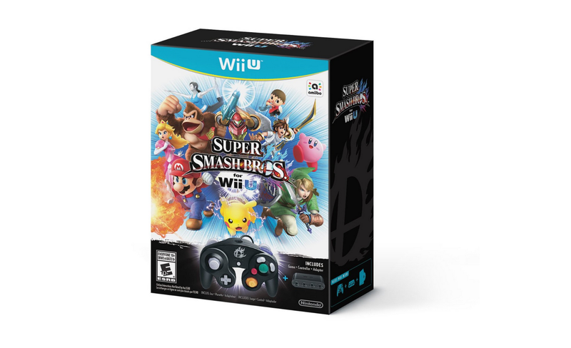 Illustration for article titled $99 Wii U Super Smash Bros Game+Controller Bundle Spotted on Amazon