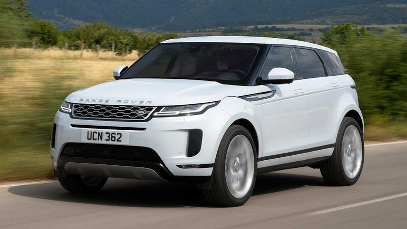 Illustration for article titled The 2020 Range Rover Evoque Lets You See Through the Hood