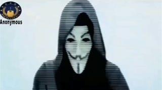 Illustration for article titled Az Anonymous hadat üzent a terroristáknak