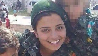 Illustration for article titled Arin Mirkan: Mother of 2, Defender of Kobani, Killer of 23 ISIS Soldiers