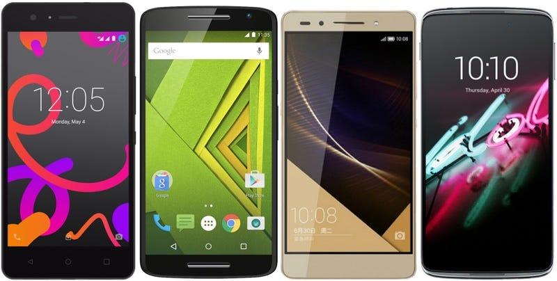 Los mejores teléfonos en relación calidad-precio que compiten contra el Nexus 5X