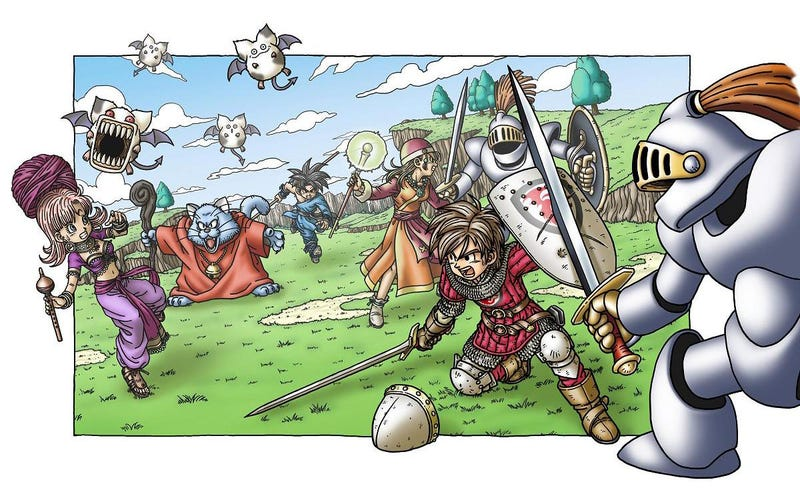 Illustration for article titled Dragon Quest XI reveal next week?