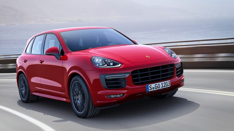 Illustration for article titled ​2015 Porsche Cayenne GTS: This Is It