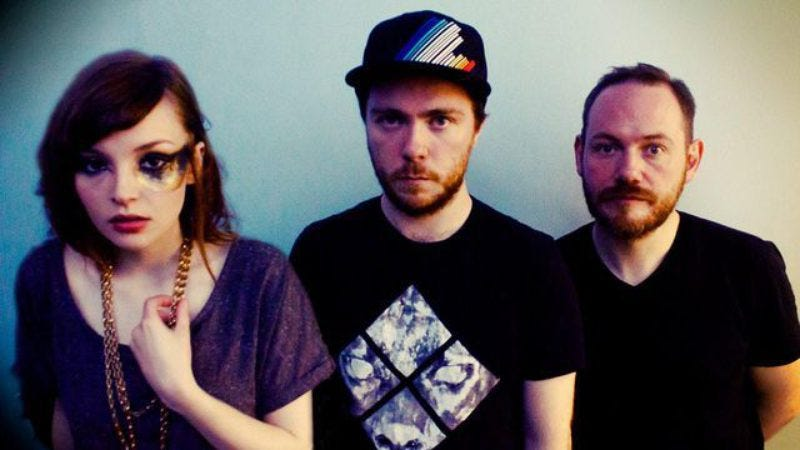 Illustration for article titled Chvrches has finished recording its second album