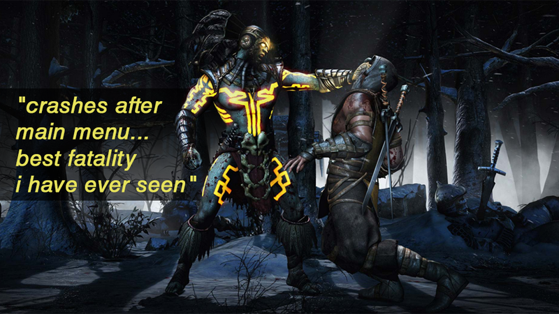 Illustration for article titled Mortal Kombat X, As Told By Steam Reviews