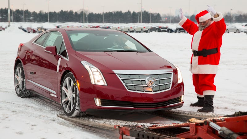 Illustration for article titled Cadillac Begins Shipping ELRs To Dealerships