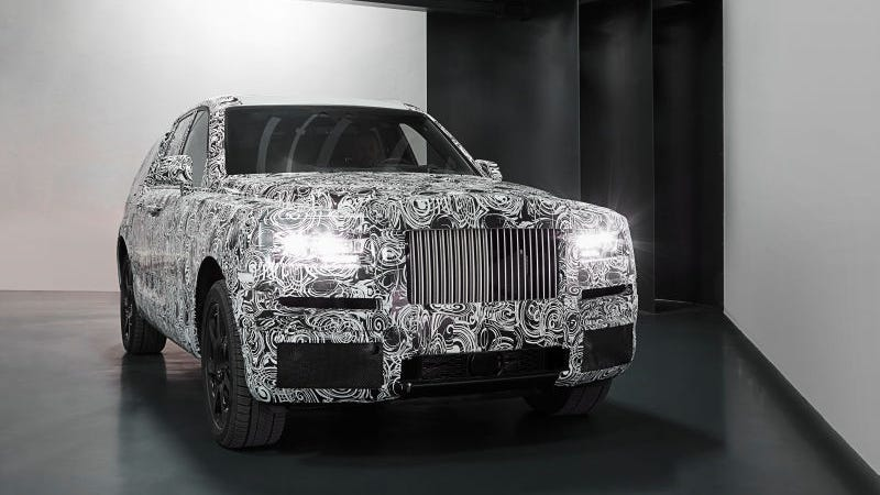Illustration for article titled Rolls-Royce CEO On The Bentley Bentayga: Nice Audi, Peasant