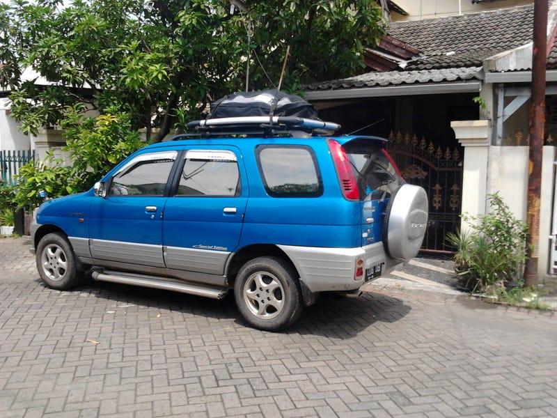 The Daihatsu Taruna Was A Long Wheelbase Version Of Terios Made Locally In Indonesia Its Small SUV Shorter Than Ford Focus