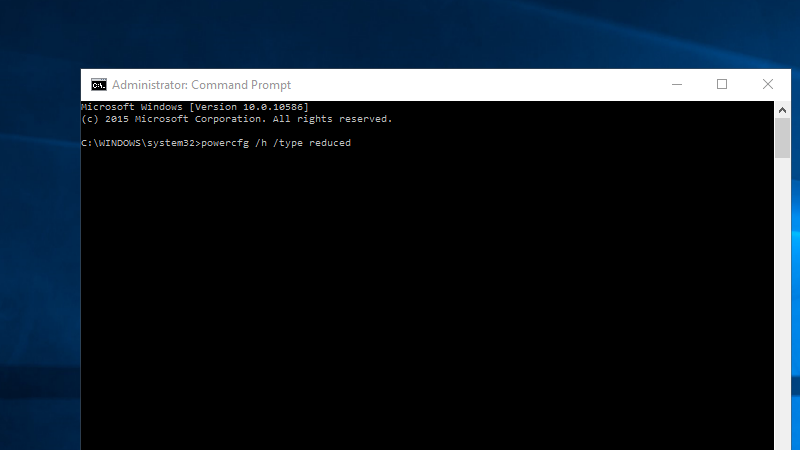 Illustration for article titled Save Hard Drive Space While Using Windows 10's Fast Startup With This Command