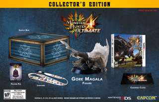 Illustration for article titled Monster Hunter 4 Ultimate Collector's Edition for NA